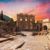 Ephesus-site-from-Cesme-in-Turkey