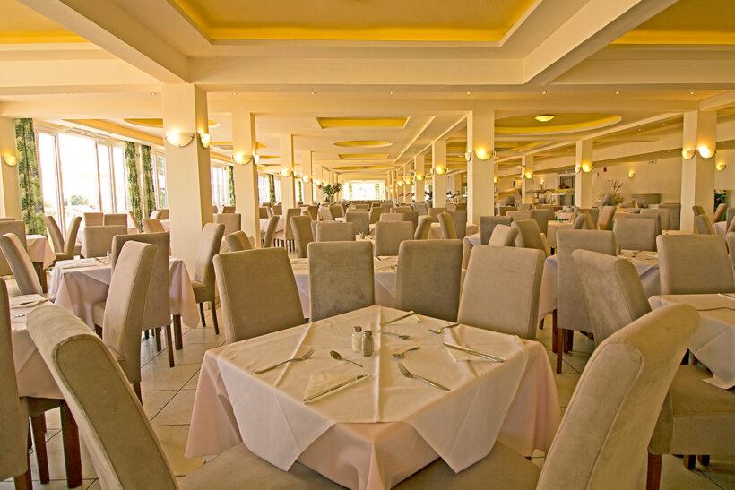 Restoranti Messonghi Beach Hotel Corfu Elite Travel Agency