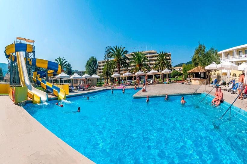 Pishina Messonghi Beach Hotel Corfu Elite Travel Agency