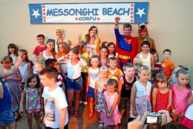 Animatore Messonghi Beach Hotel Corfu