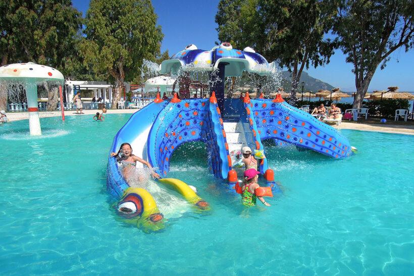 Mini-Aquapark Messonghi Beach Hotel Corfu