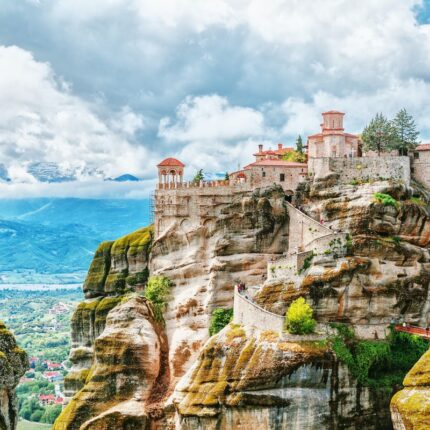 Meteora- Manastiret Ne Meteora dhe Selanik